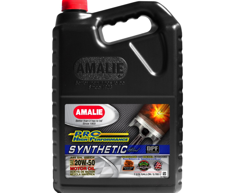Amalie 20W50 Pro High Performance Syntethic Blend